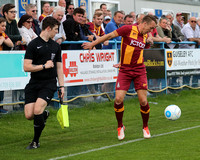 Guiseley v Bradford City 18jul17